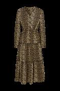 Flæsekjole vmLeo Ankle Dress, leopardmønstret
