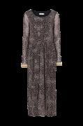 Kjole Lauren Dress, leopardmønstret
