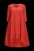 Lang, A-formet kjole i lyocell