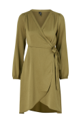 Slå om-kjole vmGamma L/S Wrap Dress