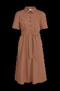 Kjole viNyala Midi S/S Dress