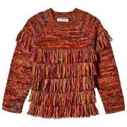 Stella McCartney Kids Multicolor Tassel Sweater 4 years