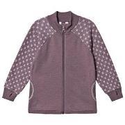Joha Frosty Wool Zip Sweater Purple 140 cm (9-10 år)