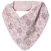 Joha Snow Flake Dry Bib Pink One Size