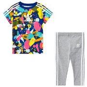 adidas Originals Baby Sæt med Multifarvet Superstar T-shirt og Bukser 9-12 months (80 cm)