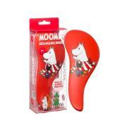 Rich Moomin Detangling Brush Red Muminmamma