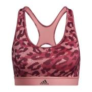 Belive This Medium Support Allover Print bh Pink
